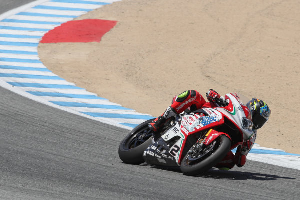 2017 Superbike World Championship - Round 8 Laguna Seca, USA. Saturday 8 July 2017 Leon Camier, MV Agusta, Hayden Livery World Copyright: Gold and Goose/LAT Images ref: Digital Image 683280