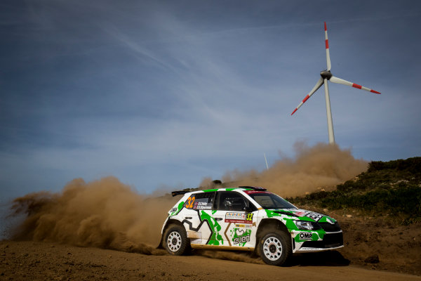 2017 FIA World Rally Championship, Round 07, Rally Italia Sardegna, June 8-11, 2017, Ole Christian Veiby, Skoda, action Worldwide Copyright: McKlein/LAT