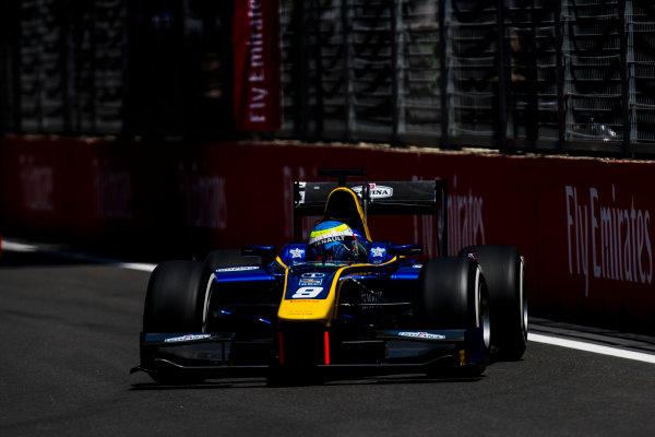 2017 FIA Formula 2 Round 4. Baku City Circuit, Baku, Azerbaijan. Friday 23 June 2017. Oliver Rowland (GBR, DAMS)  Photo: Zak Mauger/FIA Formula 2. ref: Digital Image _54I9631