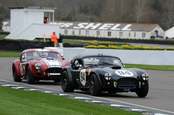 2017 75th Members Meeting Goodwood Estate, West Sussex,England 18th - 19th March 2017 Graham Hill Trophy Gans Wolfe Cobra World Copyright : Jeff Bloxham/LAT Images Ref : Digital Image