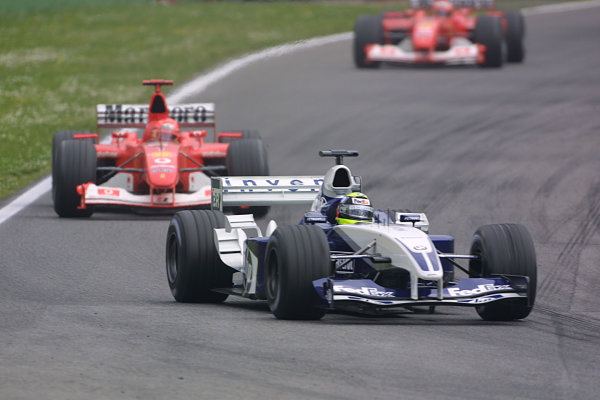 2003 San Marino Grand Prix - Sunday Race,