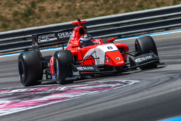 Le Castellet (FRA) JUN 24-26 2016 - Forth round of the Formula V8 3.5 series at circuit Paul Ricard. Aurelien Panis #8 Arden Motorsport. Action. © 2016 Diederik van der Laan  / Dutch Photo Agency / LAT Photographic
