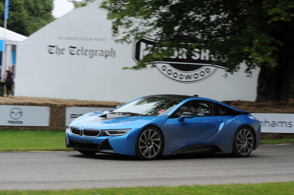 2016 Goodwood Festival of Speed Goodwood Estate, West Sussex,England 23rd - 26th June 2016 Moving Motor Show BMW World Copyright : Jeff Bloxham/LAT Photographic Ref : Digital Image