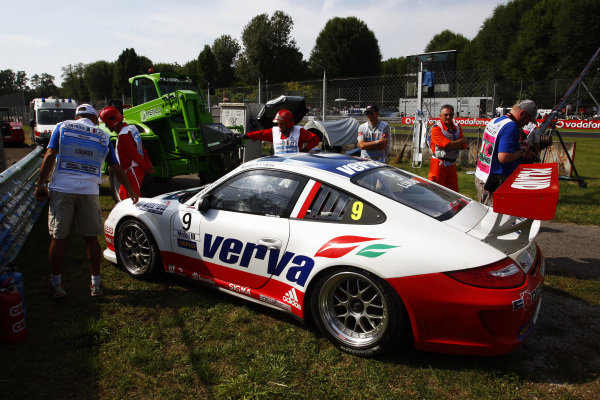 Robert Lukas (POL) Verva Racing Team retired from the race.