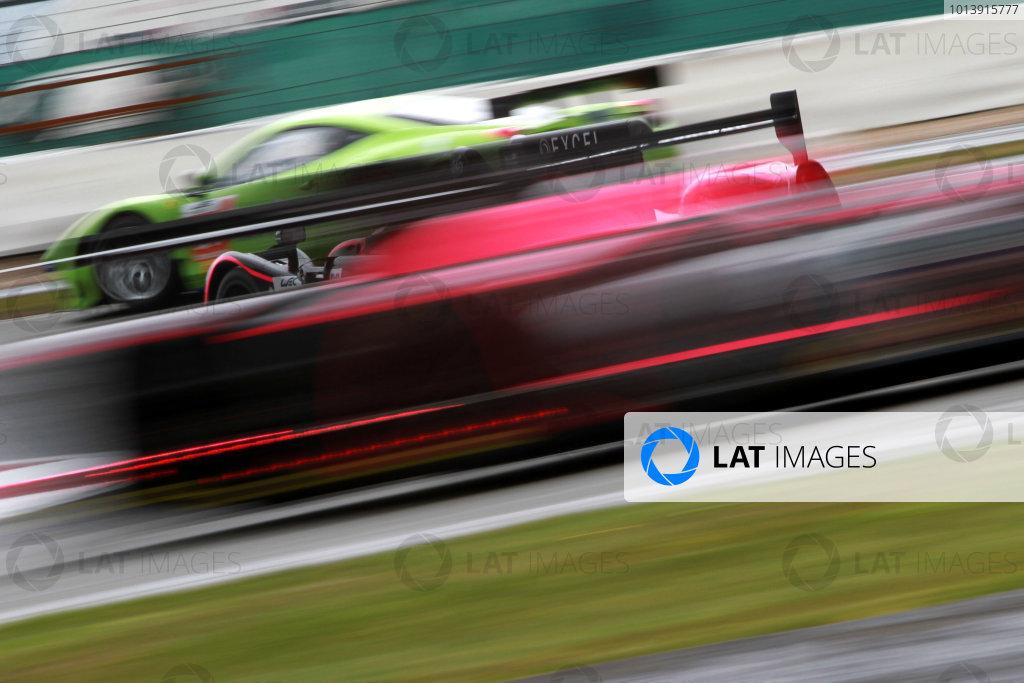 2013 FIA WEC Championship, Silverstone, Northamptonshire. 12th - 14th April 2013. Tracy Krohn / Niclas Jonsson /  World Copyright: Ebrey / LAT Photographic.