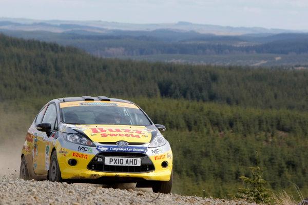 2013 MSA British Rally Championship, Pirelli Richard Burns Foundation Rally, Carlisle. 4th - 5th May 2013. Alex Parpottas / Neil Shanks Ford Fiesta. World Copyright: Ebrey / LAT Photographic.