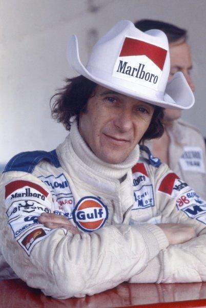 1978 Argentinian Grand Prix.Buenos Aires, Argentina.13-15 January 1978.Arturo Merzario (Merzario A1-Cosworth), retired, portrait.World Copyright - LAT Photographic