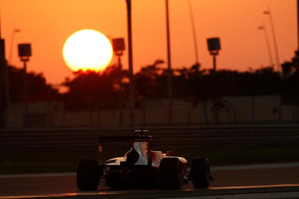 2014 GP3 Series Test 3.   Yas Marina Circuit, Abu Dhabi, United Arab Emirates. Saturday 29 November 2014. Artur Janosz (POL, Arden International)  Photo: Sam Bloxham/GP3 Series Media Service. ref: Digital Image _14P3029