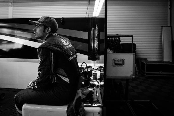 JEREZ (ESP) MAR 24-26 2014 - World Series by Renault 2014 at Circuito permanente de Jerez. Carlos Sainz jr. #1 Dams. Portrait. © 2014 Sebastiaan Rozendaal / Dutch Photo Agency / LAT Photographic