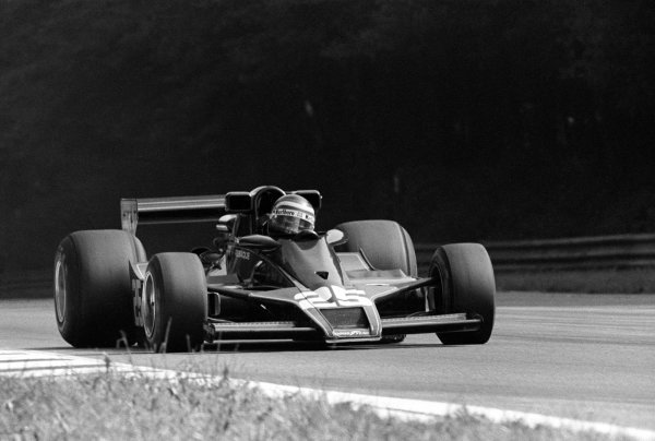 Hector Rebaque (MEX) Team Rebaque Lotus 78 failed to qualify for the race. Italian Grand Prix, Rd 14, Monza, Italy, 14 September 1978.
