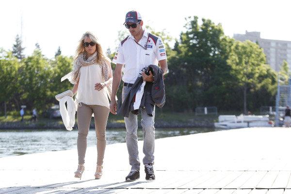 Circuit Gilles Villeneuve, Montreal, Canada. Saturday 7 June 2014. Adrian Sutil, Sauber. World Copyright: Charles Coates/LAT Photographic. ref: Digital Image _N7T3217