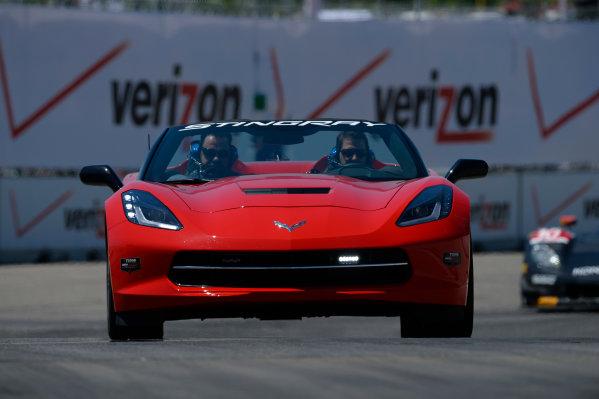 30-31 May,  2014, Detroit, Michigan, USA Corvette Pace Car ©2014, Richard Dole LAT Photo USA