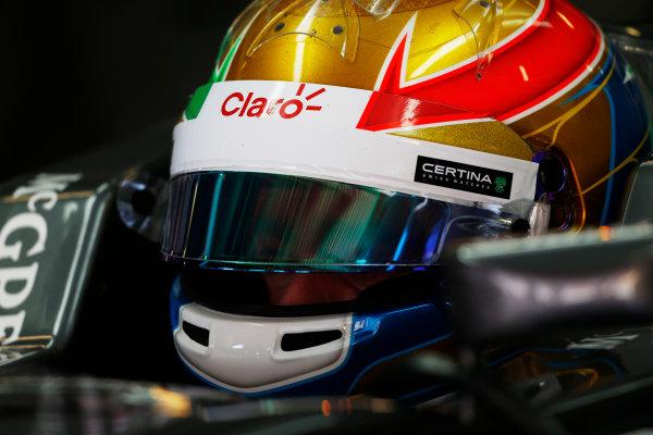 Circuit de Catalunya, Barcelona, Spain. Wednesday 14 May 2014. Esteban Gutierrez, Sauber. World Copyright: Sam Bloxham/LAT Photographic. ref: Digital Image _SBL0326