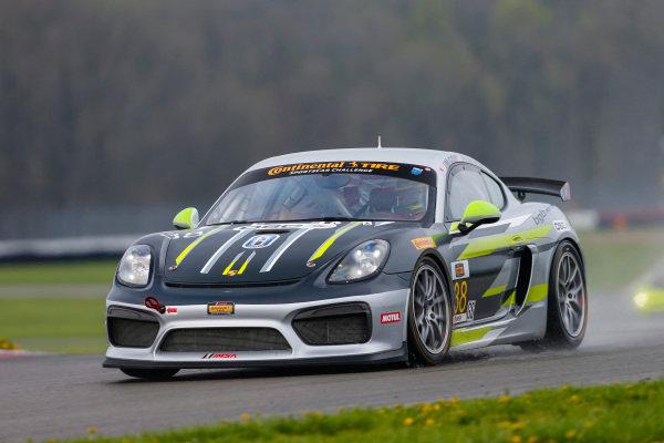#38 BGB Motorsports, Porsche Cayman GT4 MR, GS: James Cox, Dylan Murry