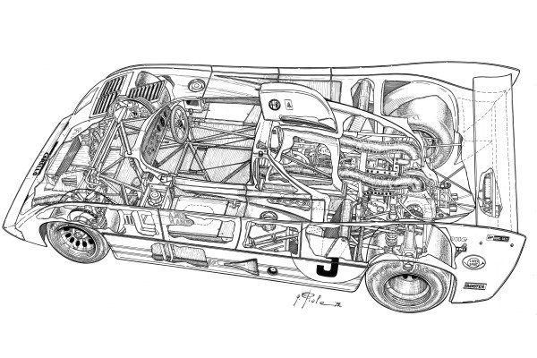 Alfa Romeo 33TT12 1973 detailed overview