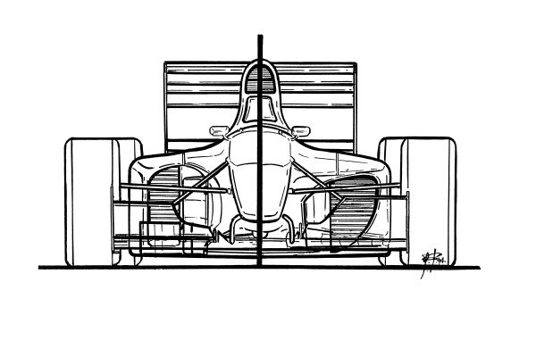 Ferrari 412T1B (646) 1994 comparison with 412T1
