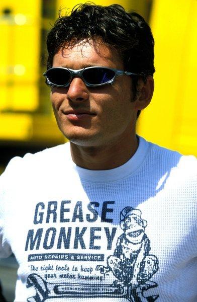 Giancarlo Fisichella (ITA), Jordan Ford. German Grand Prix, Rd12, Hockenheim, Germany. 3 August 2003. BEST IMAGE