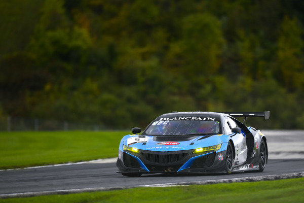 #5 Acura NSX of Till Bechtolsheimer and Trent Hindman with Gradient Racing