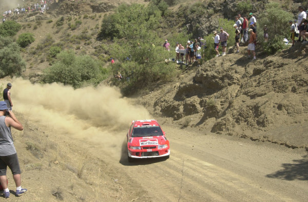 2001 World Rally ChampionshipCyprus Rally June 1-3, 2001Freddy Loix on Stage 19.Photo: Ralph Hardwick/LAT