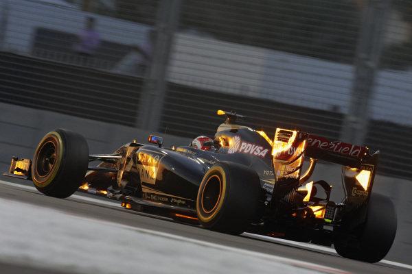 Romain Grosjean, Lotus E23 Hybrid Mercedes.