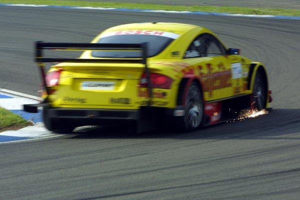 2002 DTM Championship.Hockenheim, Germany. 5-6 October 2002.Laurent Aiello (Abt Audi TT-R) 6th position.World Copyright - Andre Irlmeier/LAT Photographic