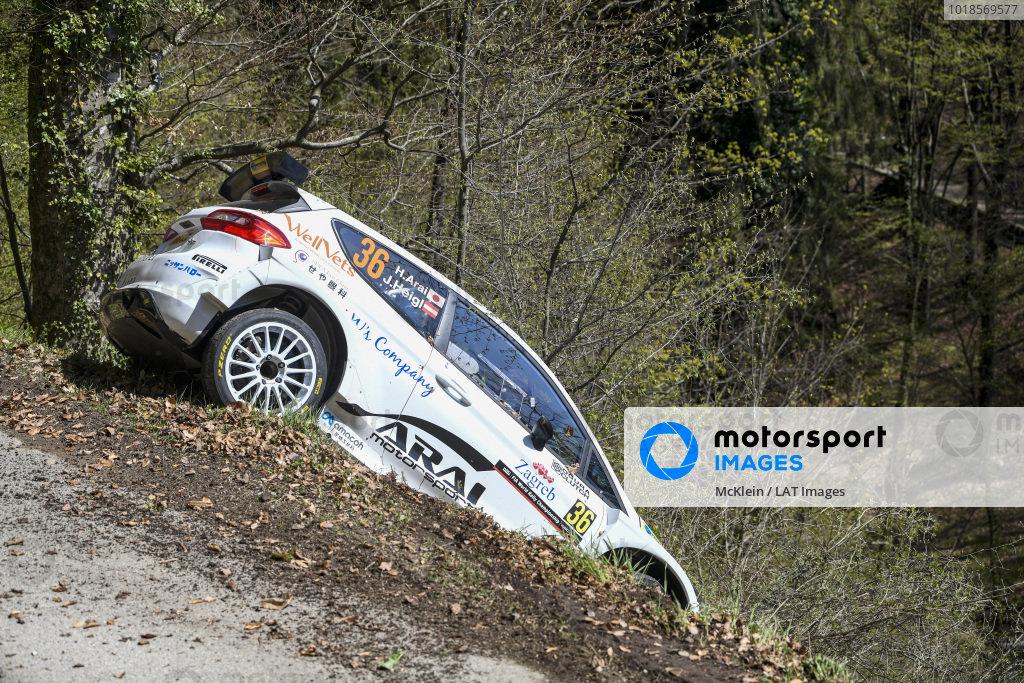 Hiroki Arai (JPN), Stohl Racing, Ford Fiesta Rally 2