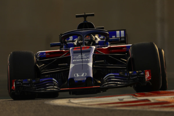 Daniil Kvyat, Toro Rosso STR13.