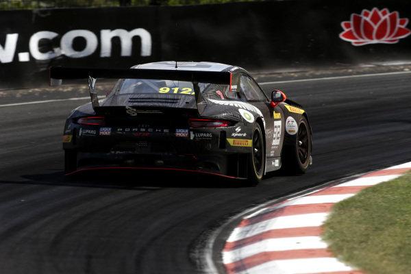 #912 EBM Porsche 911 GT3-R: Dirk Werner, Dennis Olsen, Matt Campbell.