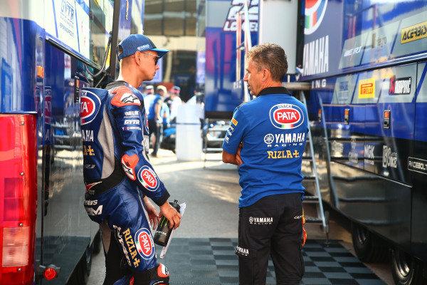 Michael van der Mark, Pata Yamaha, Les Pearson.