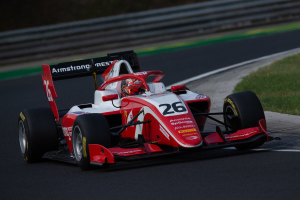 HUNGARORING, HUNGARY - AUGUST 03: Marcus Armstrong (NZL, PREMA Racing) during the Hungaroring at Hungaroring on August 03, 2019 in Hungaroring, Hungary. (Photo by Joe Portlock / LAT Images / FIA F3 Championship)