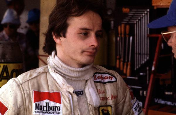 Formula 1 World Championship.Gilles Villeneuve (Ferrari).Ref-V2A 11.World - LAT Photographic