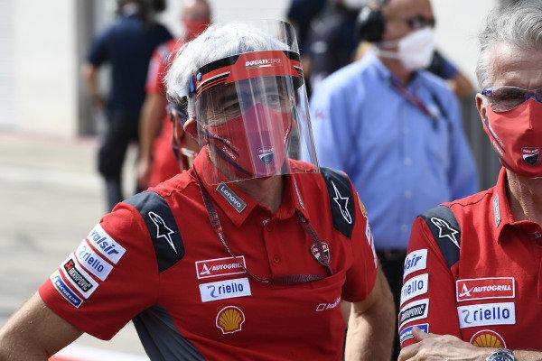 Gigi Gigi Dall'Igna, Ducati Team General Manager.