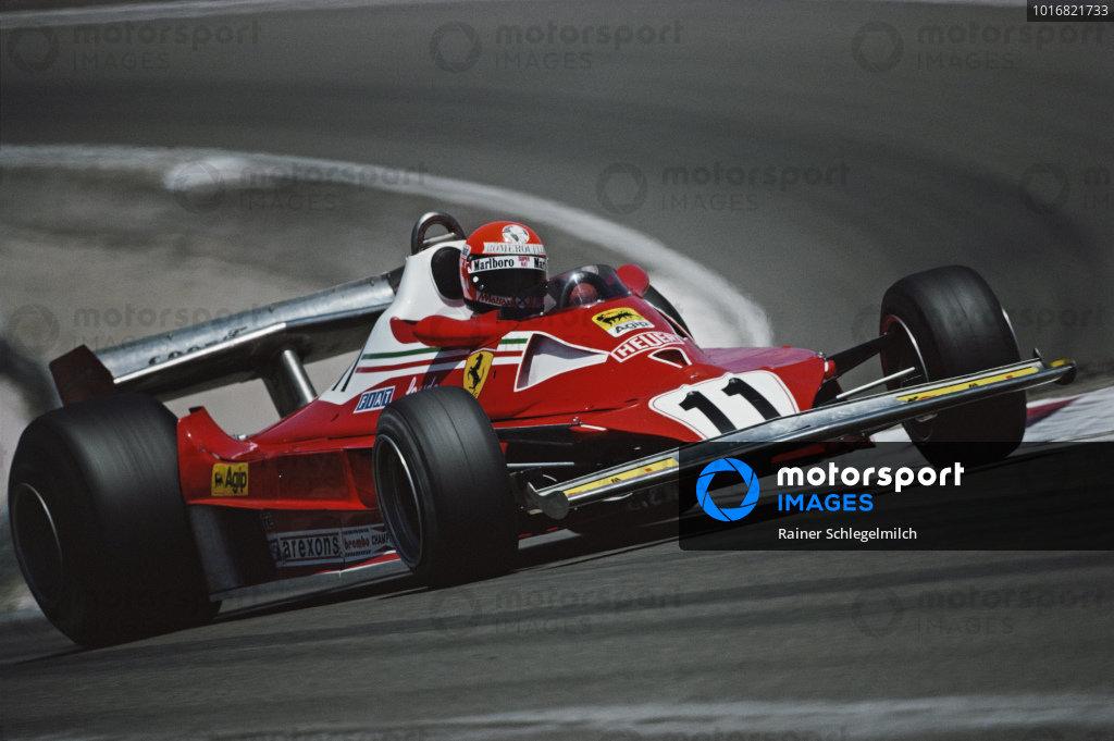 Niki Lauda, Ferrari 312T2.