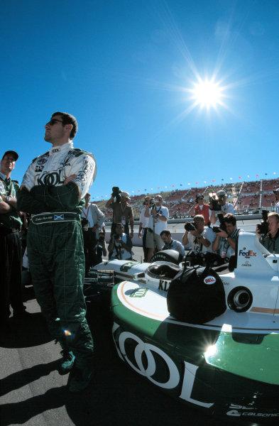 1999 CART California 500, California Speedway 31/10/99Dario practices his F-1 attitude-1999, Michael L. Levitt / USALAT PHOTOGRAPHIC