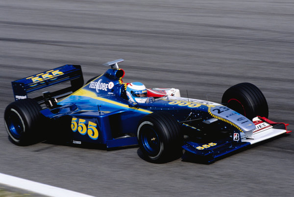 1999 Spanish Grand Prix.Catalunya, Barcelona, Spain. 28-30 May 1999.Mika Salo (B.A R. 001 Honda) 8th position.Ref-99 ESP 88.World Copyright - Charles Coates/LAT Photographic