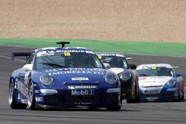 Colin McRae (GBR). Porsche Supercup, Rd4, Nurburgring, Germany, 6 May 2006. DIGITAL IMAGE