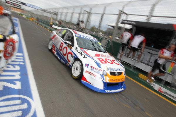 Albert Park Street Circuit, Melbourne, Australia.26th - 28th March 2010.BJR, Brad Jones Racing, Car 8, Holden Commodore VE, Jason Richards, Team BOC.World Copyright: Mark Horsburgh/LAT Photographicref: Digital Image 8-Richards-J-F1-10-m00814