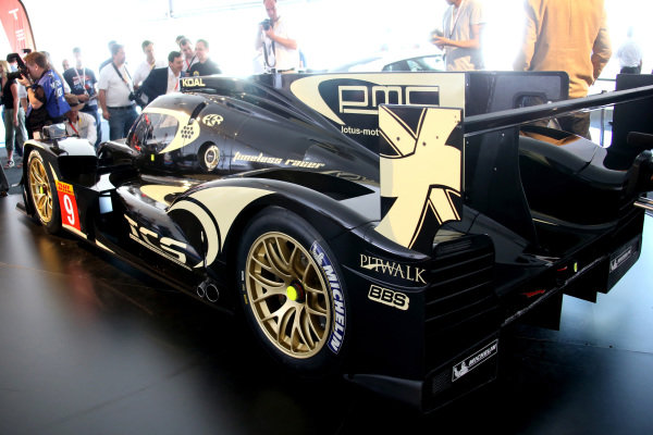 Official unveiling of the all new Lotus T129 LMP1 prototype car at the Innovation Centre. The Kodewa Racing Team are now hopeful of having the car ready for the fifth round of the WEC: the 6 Hours of Circuit of the Americas in Austin, Texas on 20 September 2014.