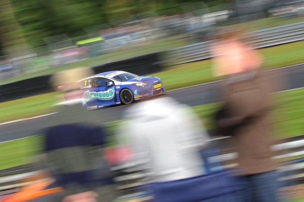 2014 British Touring Car Championship, Oulton Park, Cheshire. 7th-8th June 2104, Fabrizio Giovanardi (ITA) Airwaves Racing Ford Focus ST World copyright:  Jakob Ebrey/LAT Photographic
