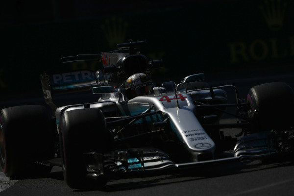 Circuit of the Americas, Austin, Texas, United States of America. Friday 27 October 2017. Lewis Hamilton, Mercedes F1 W08 EQ Power+.  World Copyright: Andy Hone/LAT Images  ref: Digital Image _ONZ0259
