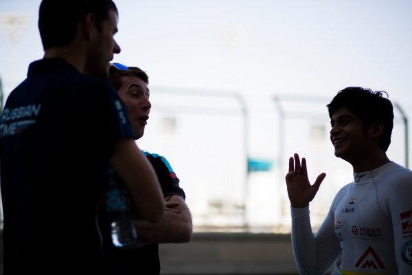 2017 GP3 Series Round 8.  Yas Marina Circuit, Abu Dhabi, United Arab Emirates. Thursday 23 November 2017. Arjun Maini (IND, Jenzer Motorsport).  Photo: Sam Bloxham/GP3 Series Media Service. ref: Digital Image _J6I0999