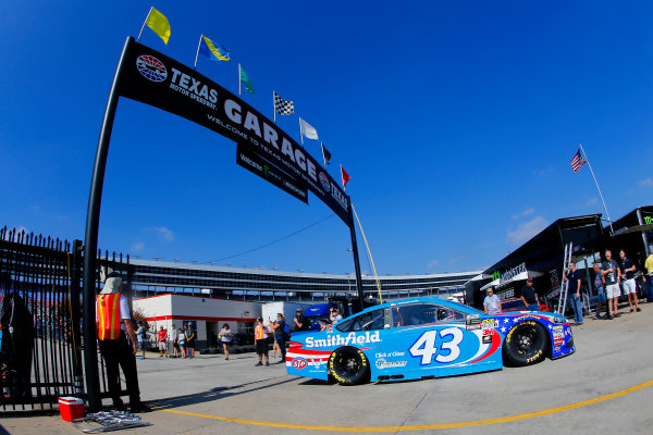 Monster Energy NASCAR Cup Series AAA Texas 500 Texas Motor Speedway Fort Worth, TX USA Saturday 4 November 2017 Aric Almirola, Richard Petty Motorsports, Smithfield Ford Fusion World Copyright: Russell LaBounty LAT Images