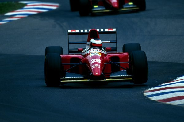 Gerhard Berger (AUT) Ferrari F93A finished sixth.