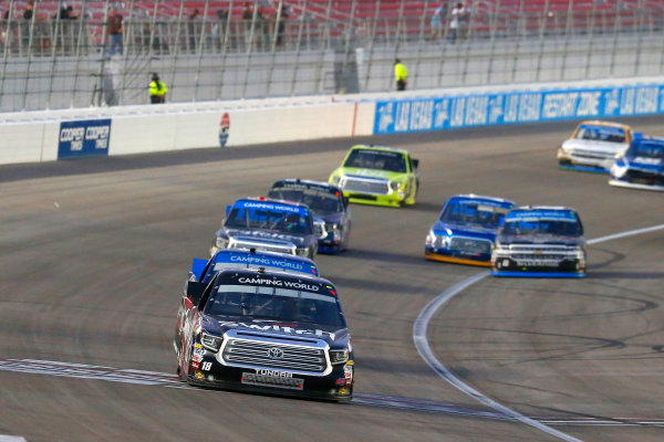 NASCAR Camping World Truck Series Las Vegas 350 Las Vegas Motor Speedway, Las Vegas, NV USA Saturday 30 September 2017 Noah Gragson, Switch Toyota Tundra World Copyright: Russell LaBounty LAT Images