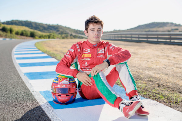 2017 FIA Formula 2 Round 10. Circuito de Jerez, Jerez, Spain. Saturday 7 October 2017. Charles Leclerc (MCO, PREMA Racing).  Photo: Zak Mauger/FIA Formula 2. ref: Digital Image _56I4132