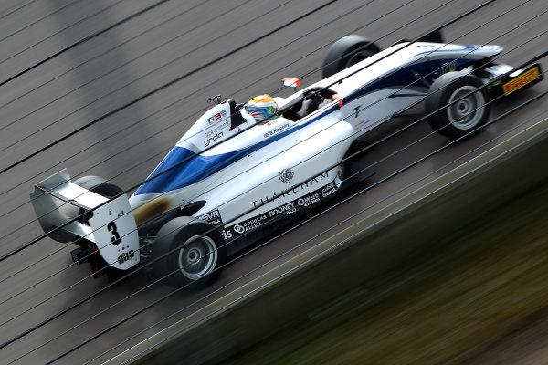 2016 BRDC British Formula 3 Championship, Rockingham, Northamptonshire.  30th April - 1st May 2016. Ben Hingeley (GBR) HHC Motorsport BRDC F3. World Copyright: Ebrey / LAT Photographic.