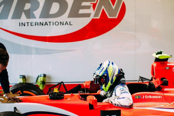 2016 GP2 Series Testing. Jerez, Spain. Wednesday 30 March 2016 Jimmy Eriksson (SWE) Arden International  World Copyright: Malcolm Griffiths/LAT Photographic. ref: Digital Image _G7C1039