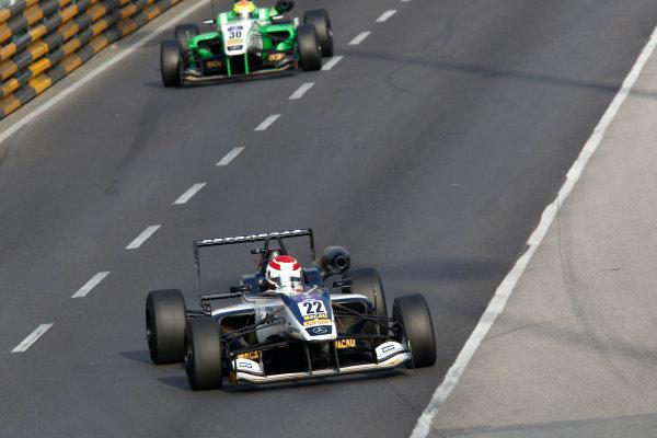2016 Macau Formula 3 Grand Prix Circuit de Guia, Macau, China 17th - 20th November 2016 Pedro Piquet (BRA) Van Amersfoort Racing Dallara Mercedes. World Copyright: XPB Images/LAT Photographic ref: Digital Image XPB_855374_HiRes