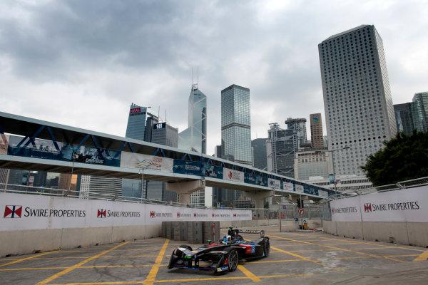 2016/2017 FIA Formula E Championship. Hong Kong ePrix, Hong Kong, China. Saturday 8 October 2016. Maro Engel (GER), Venturi, Spark-Venturi, Venturi VM200-FE-02.  Photo: Alastair Staley/LAT/Formula E ref: Digital Image 580A9208