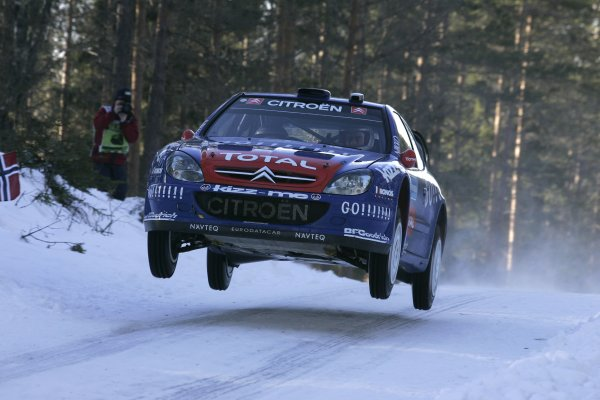 2006 FIA World Rally Champs. Round two Swedish Rally.2nd-5th February 2006.Xavier Pons, Citroen, action.World Copyright: McKlein/LAT